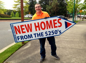 Sign Spinner in Tacoma, Seattle and Bellevue