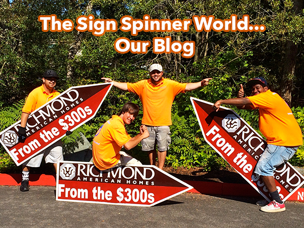 sign spinners seattle miami los angeles florida cali LA