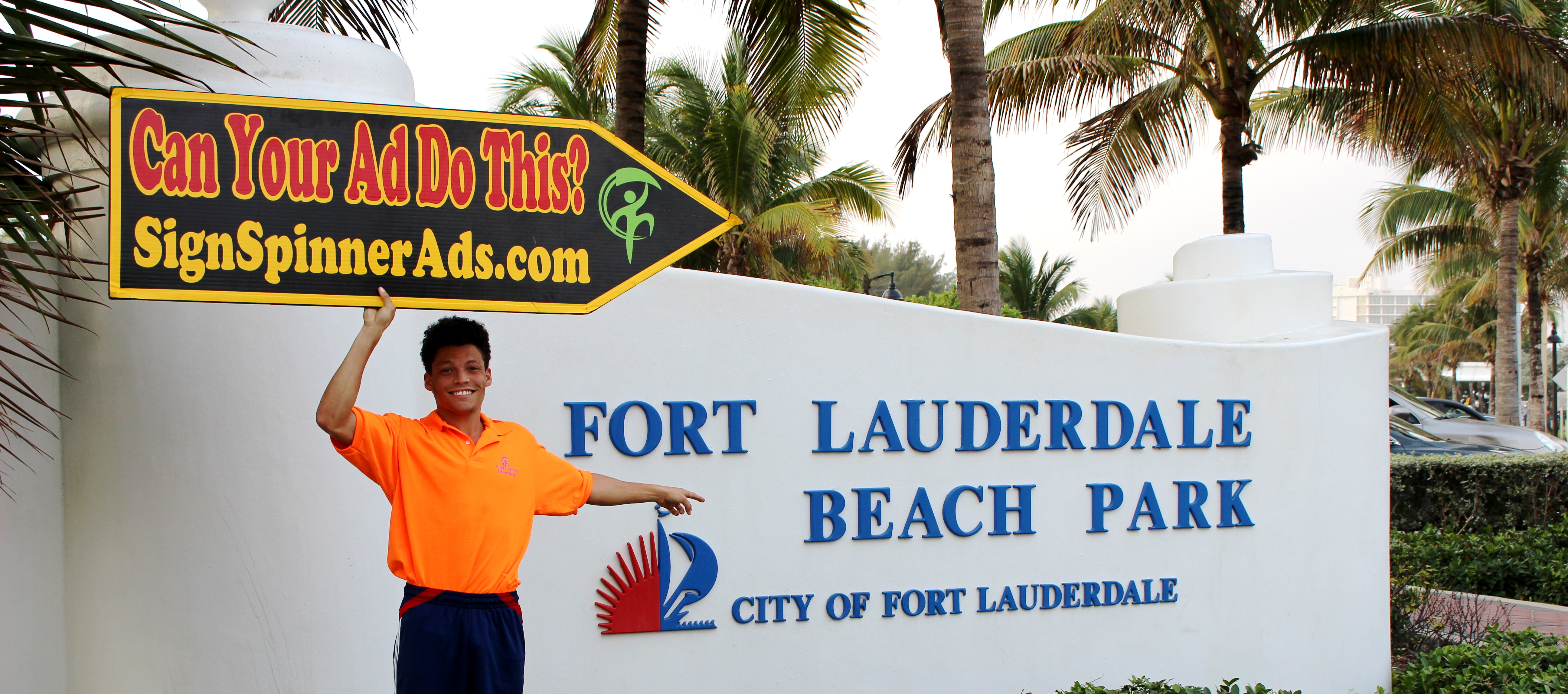 South Florida Sign Spinners - Miami | Fort Lauderdale | Boca Raton | West Palm Beach