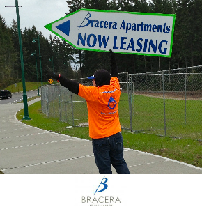 Sign SpinMarina Del Rey Los Angeles California Sign Spinnersners in Seattle for Bracera Apartments