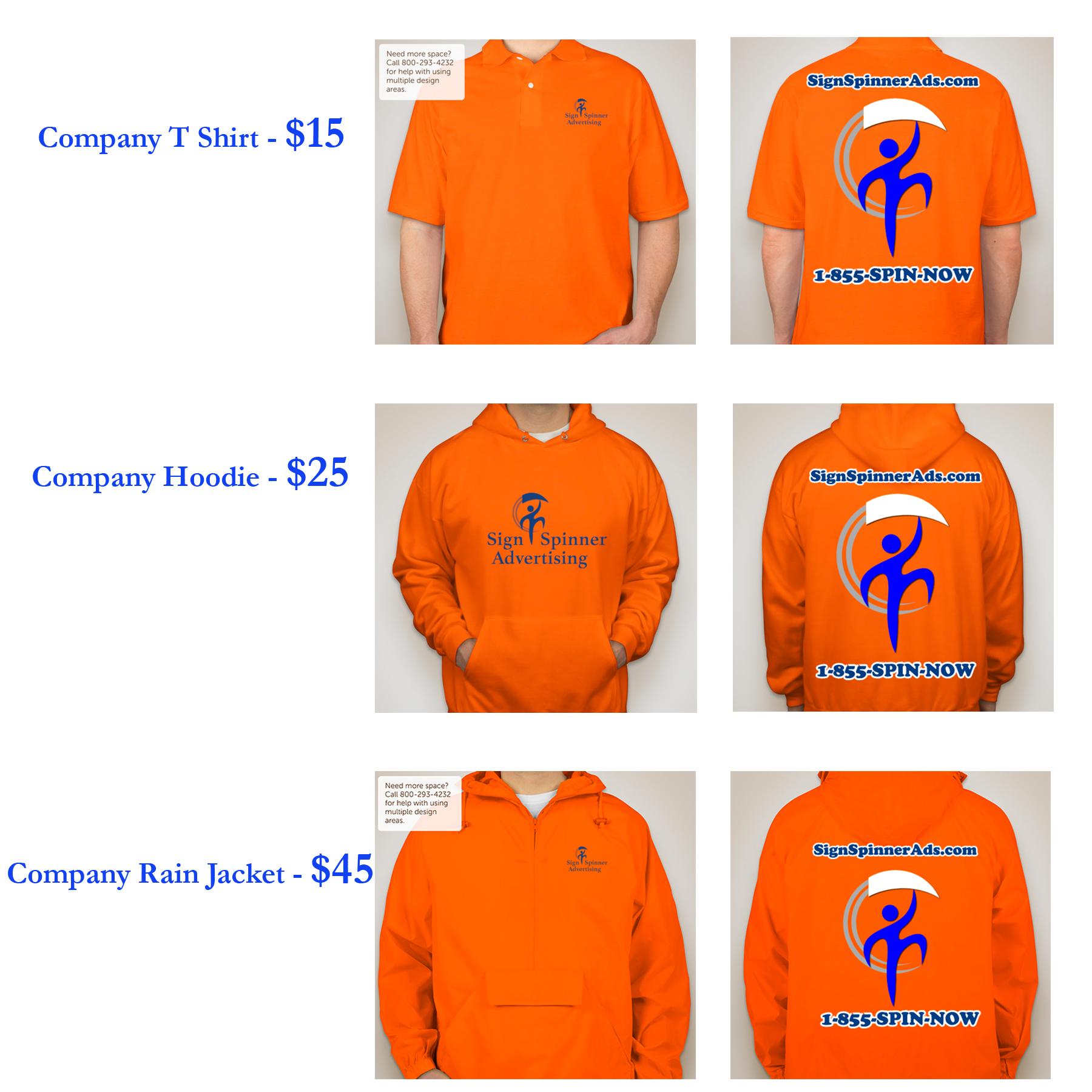Company Clothing catalog